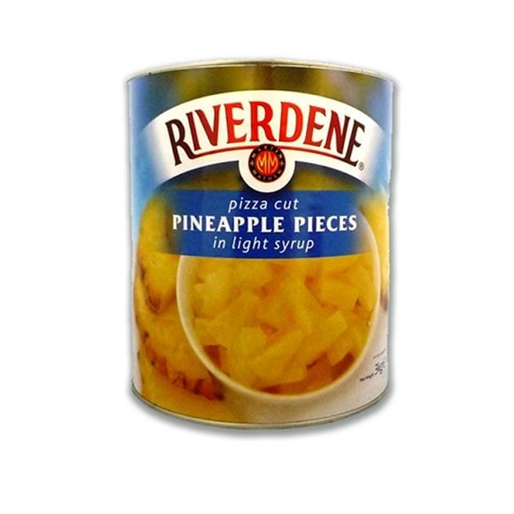 Riverdene Pizza Cut Pineapple in Syrup 3 KG