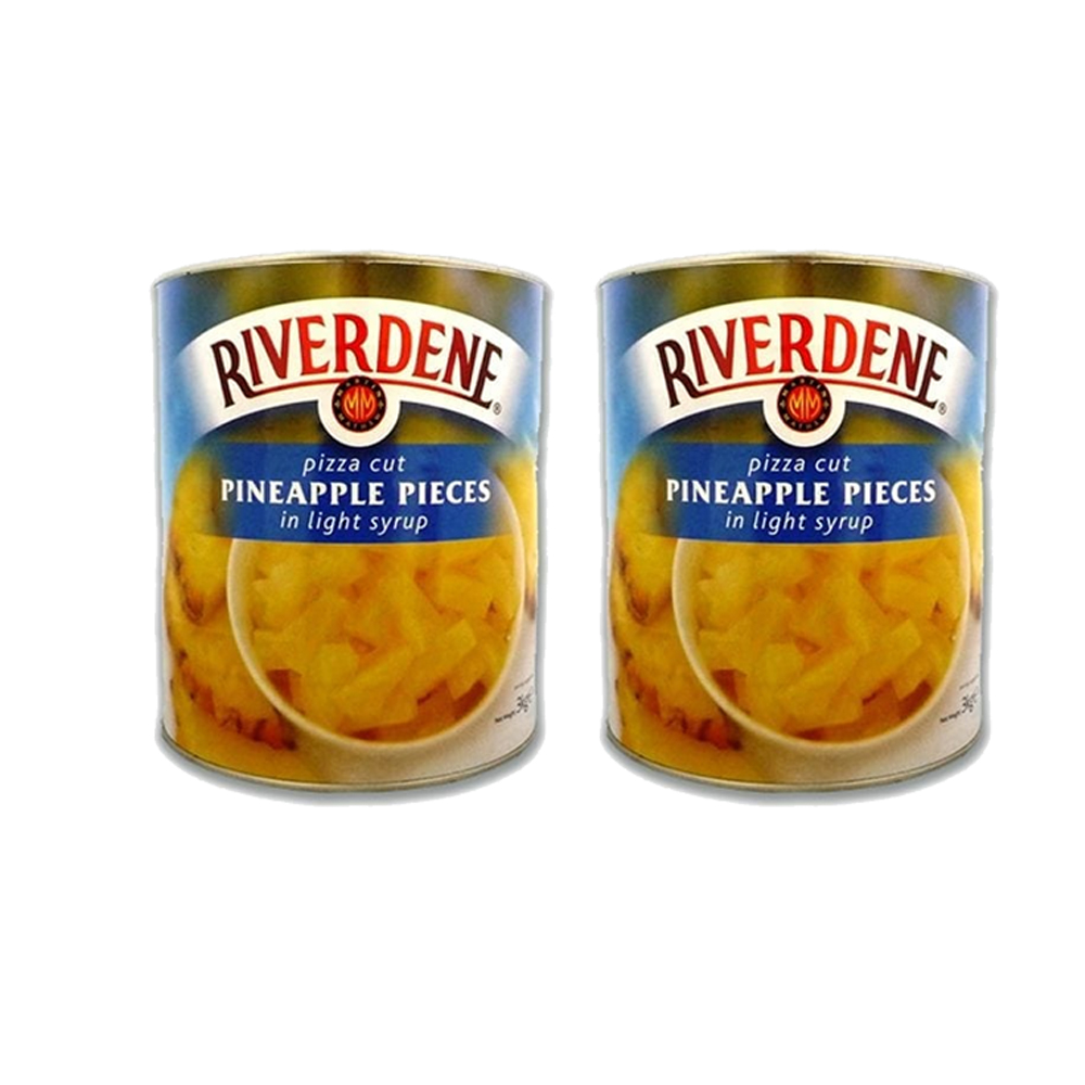 Riverdene Pizza Cut Pineapple in Syrup 12×825 G