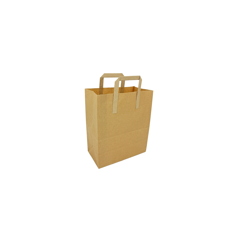 Small Brown Paper Carrier Bag