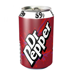 DR Pepper Can 330 ML